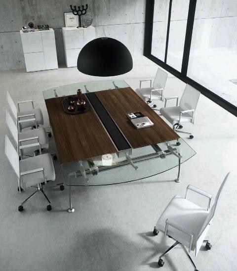 Linea tiper tavoli sala riunioni for Sala riunioni
